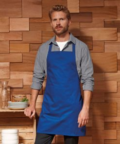 Royal Blue Value Bib Apron