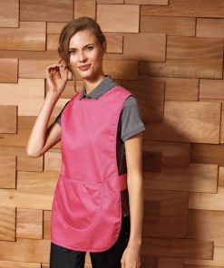 Fuchsia Tabard with Pocket