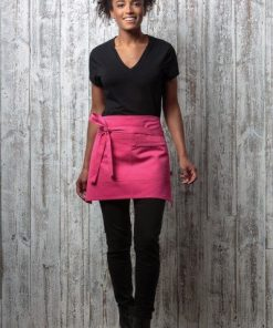 Kustom Kit Pink Waist Apron
