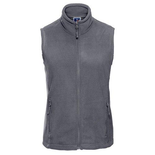 Grey Ladies Fleece Gilet