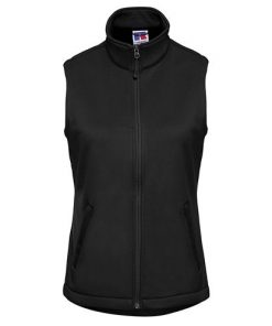 Black Smart Softshell Gilet