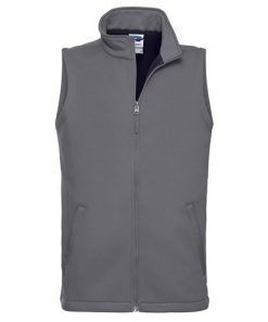Grey Softshell Gilet