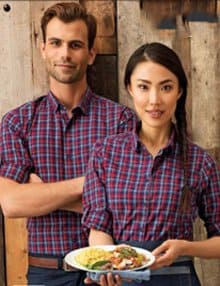 Cafe and Deli Shirts and Blouses