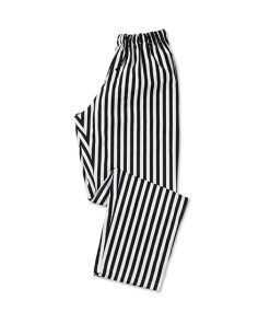 Striped Teflon Coated Chef Trouser
