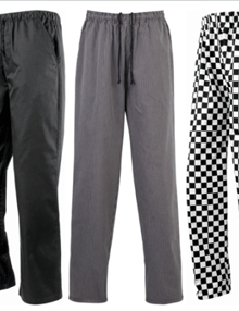 Chef Trousers for Women and Men