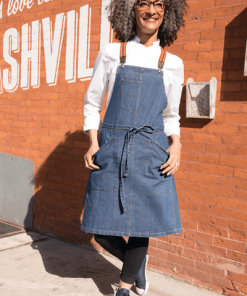 Denim Bib Apron by Chef Works