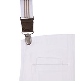 white/khaki suspender straps