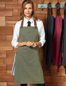 Ladies Cotton Bib Apron