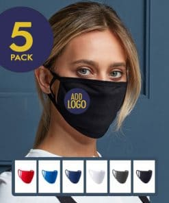 Face Coverings with Logo